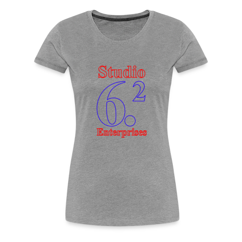 Studio 6.2 Logo - Women's Premium T-Shirt