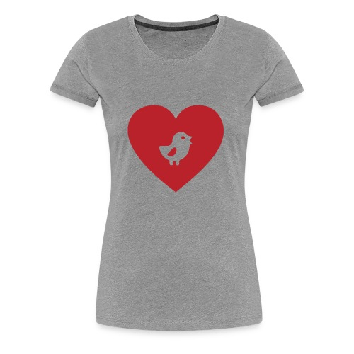 Heart Chick - Women's Premium T-Shirt