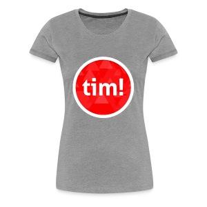 timosu logo - Women's Premium T-Shirt