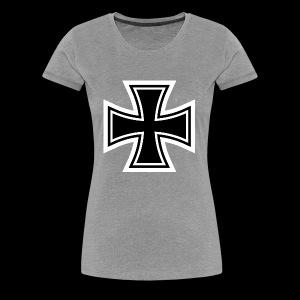ESCAPE WORLD CROSS HOODIE - Women's Premium T-Shirt