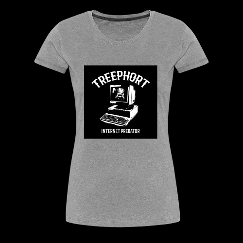 TREEPHORT: INTERNET PREDATOR MOTIF! - Women's Premium T-Shirt