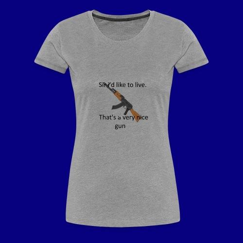 memes - Women's Premium T-Shirt
