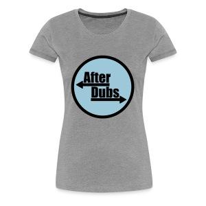 After Dubs Evening Logo - Women's Premium T-Shirt