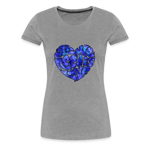 Hippie's Heart - Women's Premium T-Shirt
