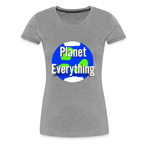 Planet Circle logo merchandise - Women's Premium T-Shirt