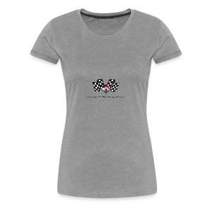 varoom1skull&flags - Women's Premium T-Shirt