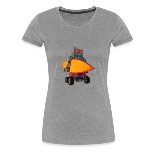 SURF, MACHINE - Women's Premium T-Shirt