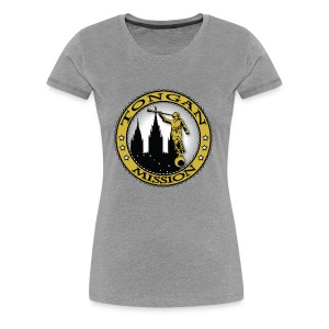 Tongan Mission - LDS Mission Classic Seal Gold - Women's Premium T-Shirt