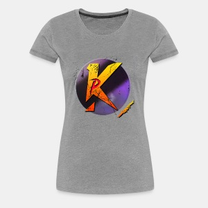 Piros P Logó - Women's Premium T-Shirt