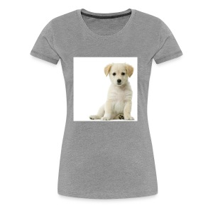 A Cute Puppy - Women's Premium T-Shirt