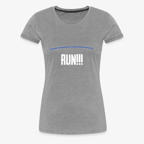 Run - The Blue Line Is Coming - PUBG Battlegrounds - Women's Premium T-Shirt