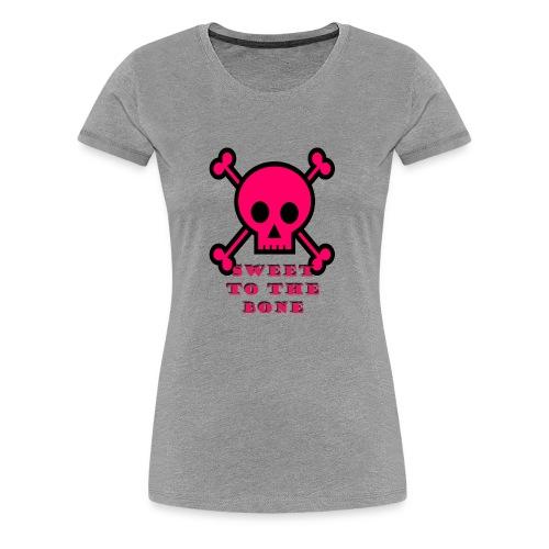 bone sweetness - Women's Premium T-Shirt