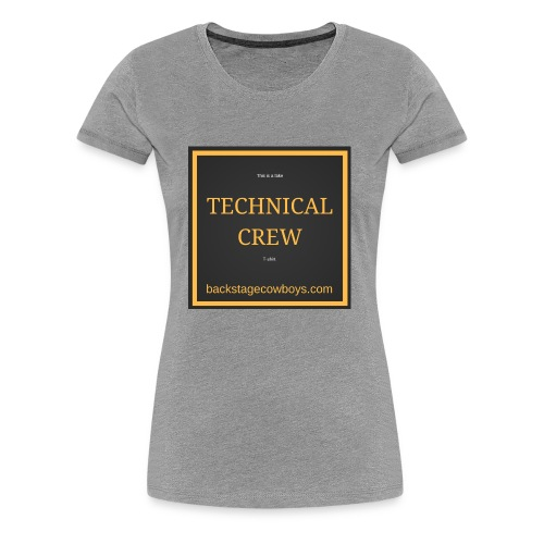 FAKE TECHNICAL CREW - Women's Premium T-Shirt