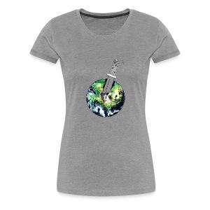 Oil Killer - Save planet - Women's Premium T-Shirt