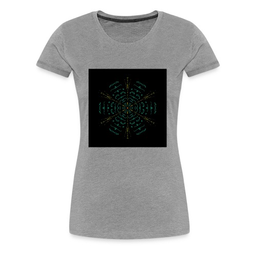 Electric mandala - Women's Premium T-Shirt