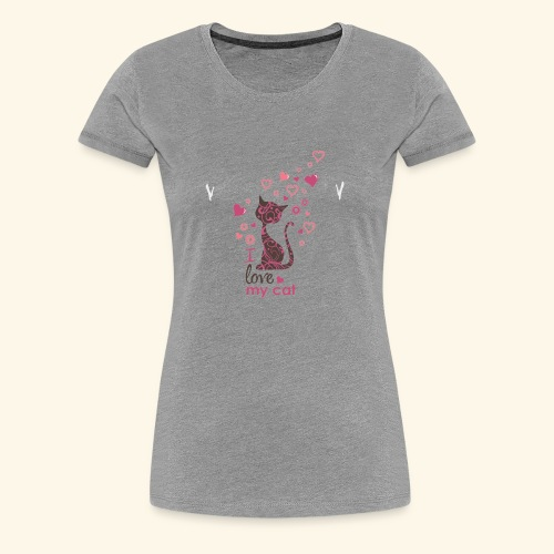 cattt - Women's Premium T-Shirt
