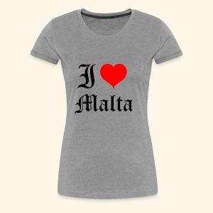 I love Malta - Women's Premium T-Shirt