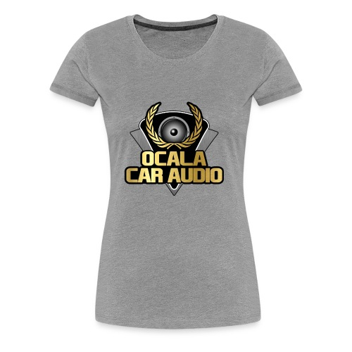 Large Crest - Women's Premium T-Shirt