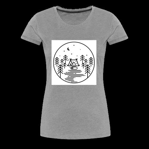 Camping - Women's Premium T-Shirt