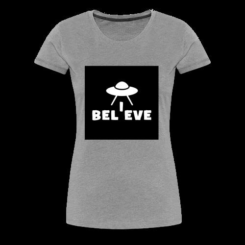 I believe - Women's Premium T-Shirt