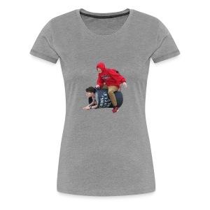 Downy Spacemen - Women's Premium T-Shirt