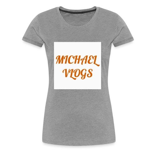 Channel name - Women's Premium T-Shirt