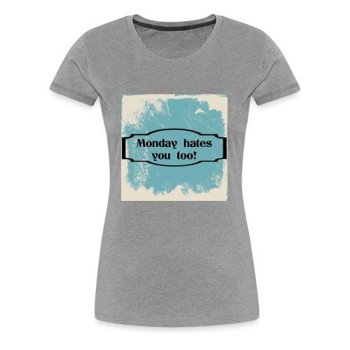 9006A514 71E8 40B7 8339 8E1BDCBB5263 - Women's Premium T-Shirt