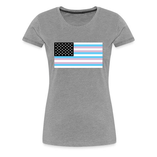 2000px TransAmerica svg - Women's Premium T-Shirt
