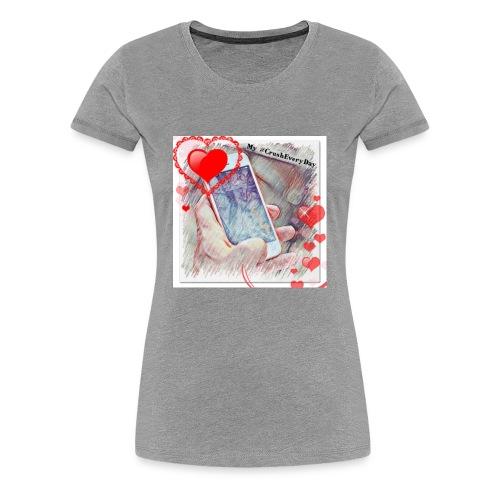 Phone Luv - Women's Premium T-Shirt