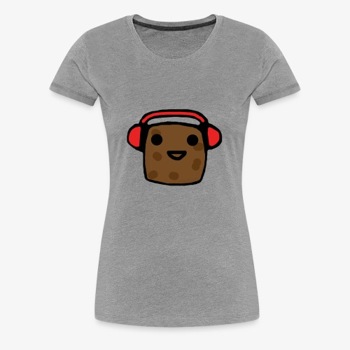 Shirt Design Potato - Women's Premium T-Shirt