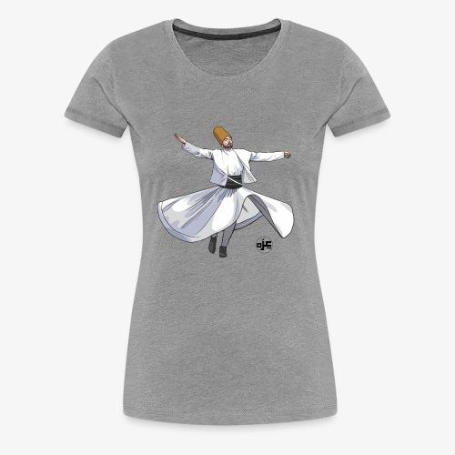 Sufi Dancer - Women's Premium T-Shirt