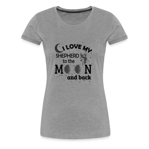 I Love My Shepherd - Women's Premium T-Shirt