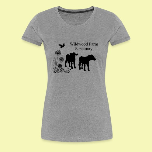Cows - Women's Premium T-Shirt