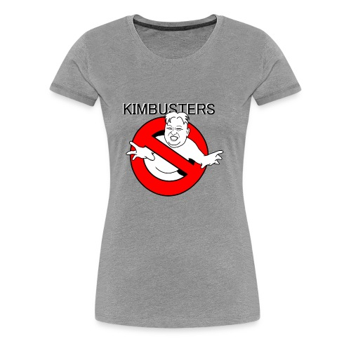 Kimbusters (with text) - Women's Premium T-Shirt