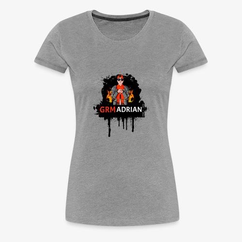 GRM Adrian Splash Logo - Women's Premium T-Shirt
