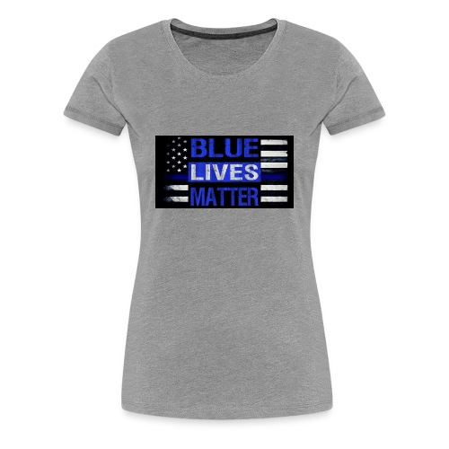 blue-lives-matter-membership-1-1024x538 - Women's Premium T-Shirt