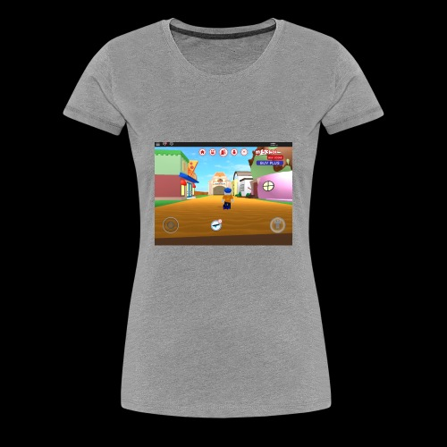 Roblox meep city - Women's Premium T-Shirt