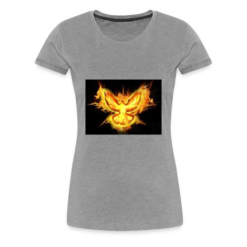 fire blaze cup - Women's Premium T-Shirt