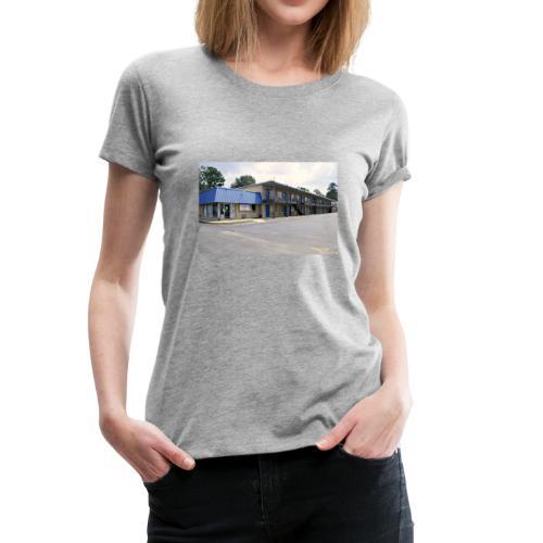 The Blue Door Motel - Women's Premium T-Shirt