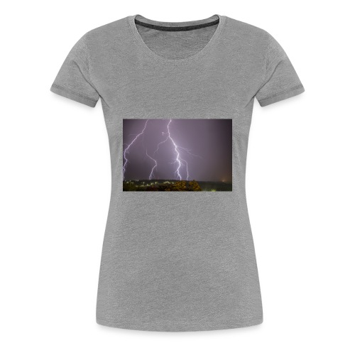 Thunder Thoughts - Women's Premium T-Shirt