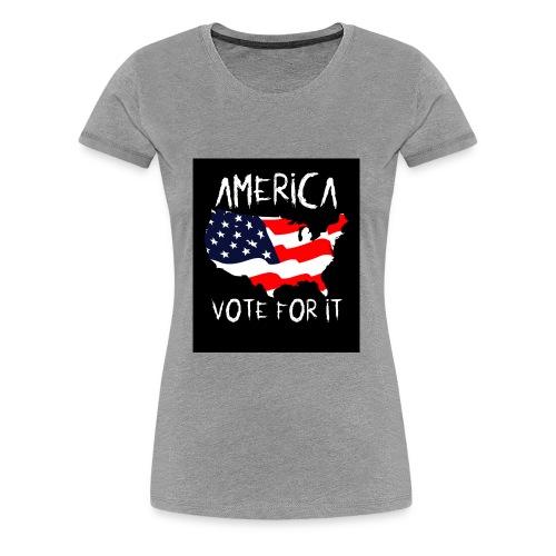 AMERICA VOTE IT - Women's Premium T-Shirt