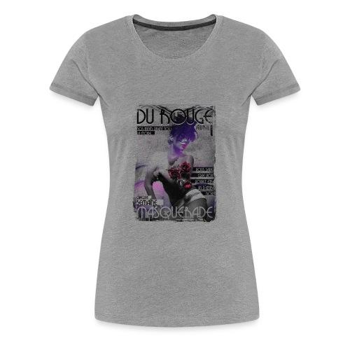 THE ROUGE - Women's Premium T-Shirt