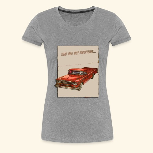 Old Trucks - Women's Premium T-Shirt