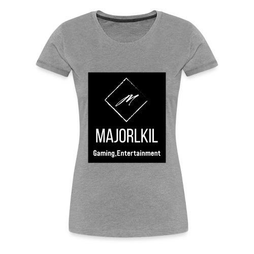Black Alternative Logo - Women's Premium T-Shirt