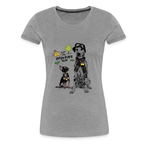 Aventure with my dad - Women's Premium T-Shirt