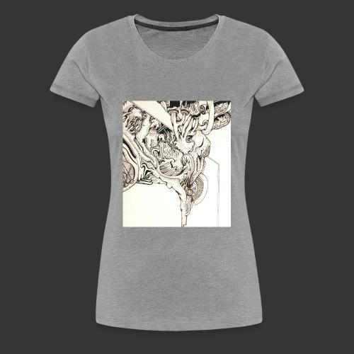 Evolving Thought - Women's Premium T-Shirt