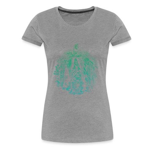 Hidden Tiger 2 - Women's Premium T-Shirt