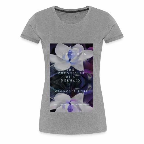 Magnolia Rose Book Cover - Women's Premium T-Shirt