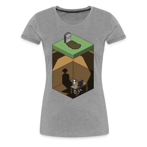 R.I.P. Social Life - Women's Premium T-Shirt