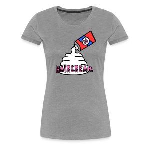 haircream cream logo - Women's Premium T-Shirt